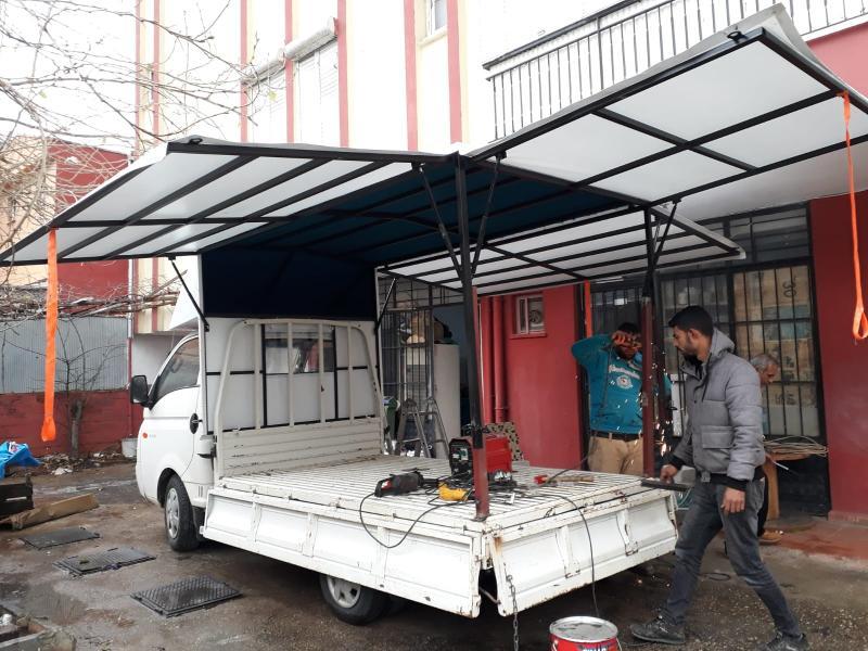 Antalya Kamyonet Tentesi | Öz Güven Çadır, Branda, Tente